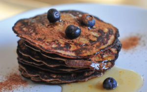 Super Tasty Healthy Light Flourless Pancakes